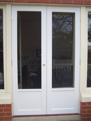 French Doors Designer Screens